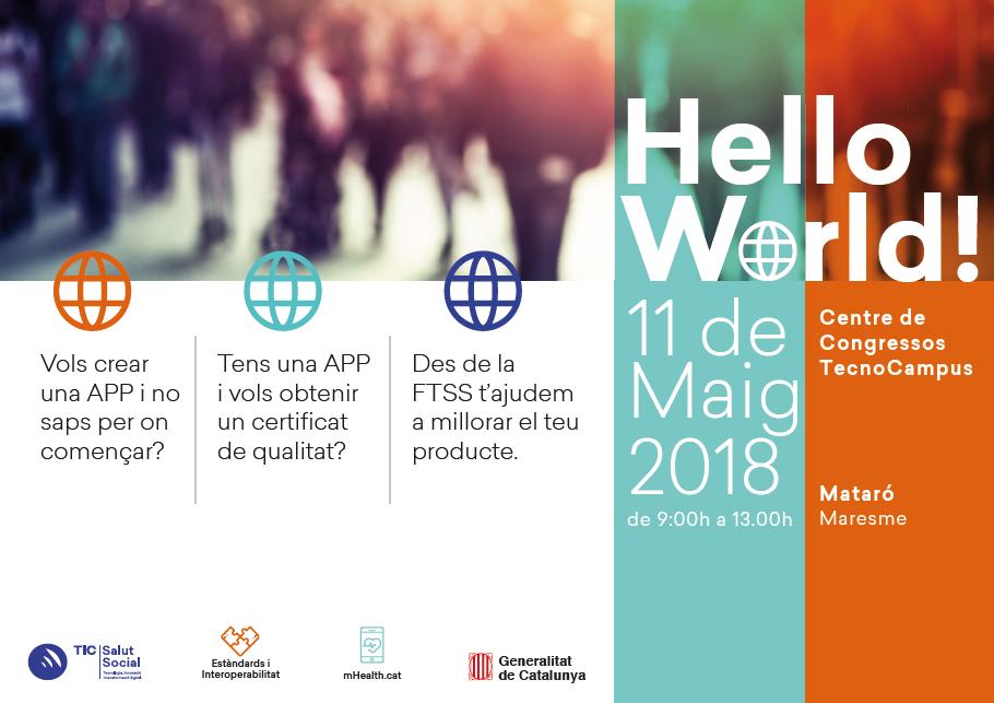 Jornada Hello World! Consells pràctics per acreditar la teva app