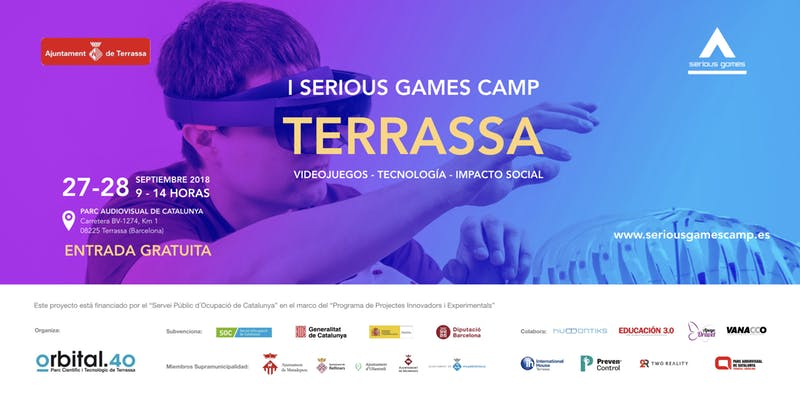 I Serious Games Camp Terrassa
