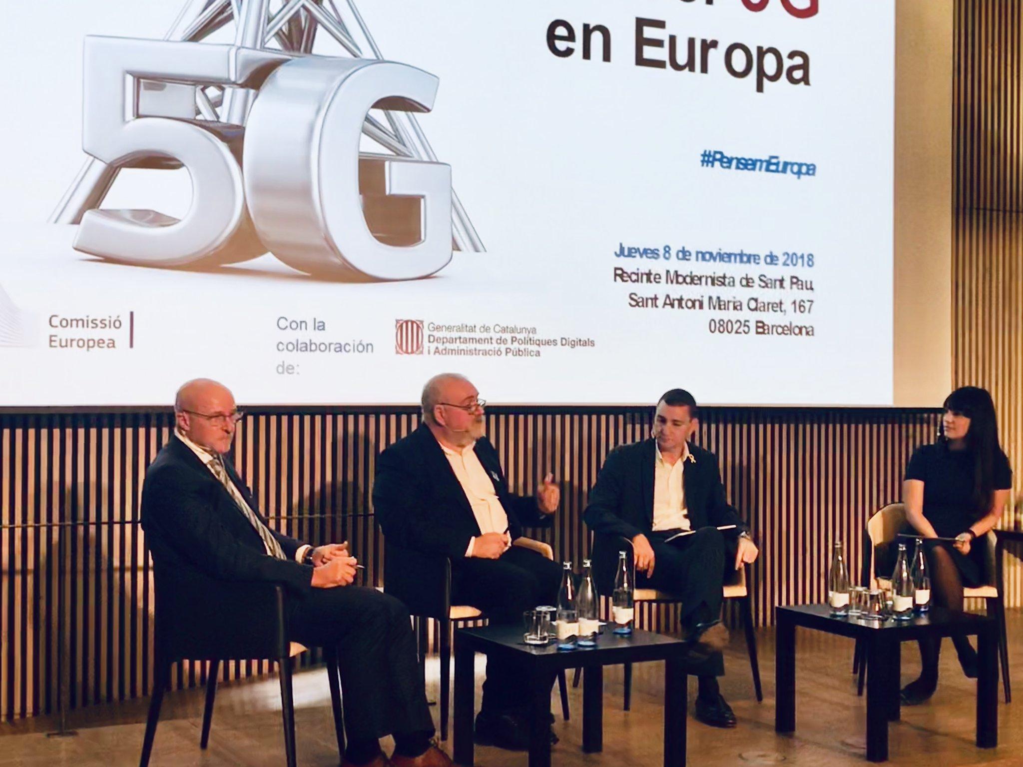 """""""Un dels grans reptes de la tecnologia que implementarem, com el 5G, és fer-la sostenible i humana"""""""