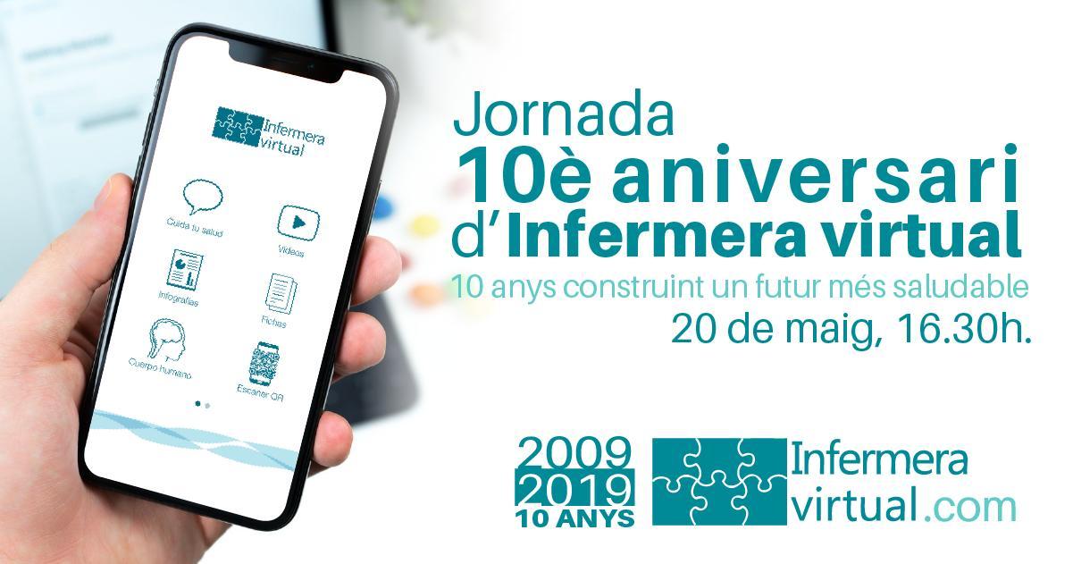Jornada 10è aniversari d'Infermera virtual
