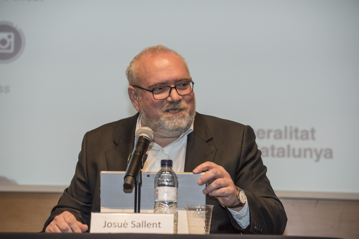 Josuè Sallent, the new director of the UVic-UCC's Health and Social ICT Chair