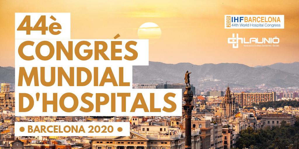 Vídeo promocional del 44è Congrés Mundial d'Hospitals