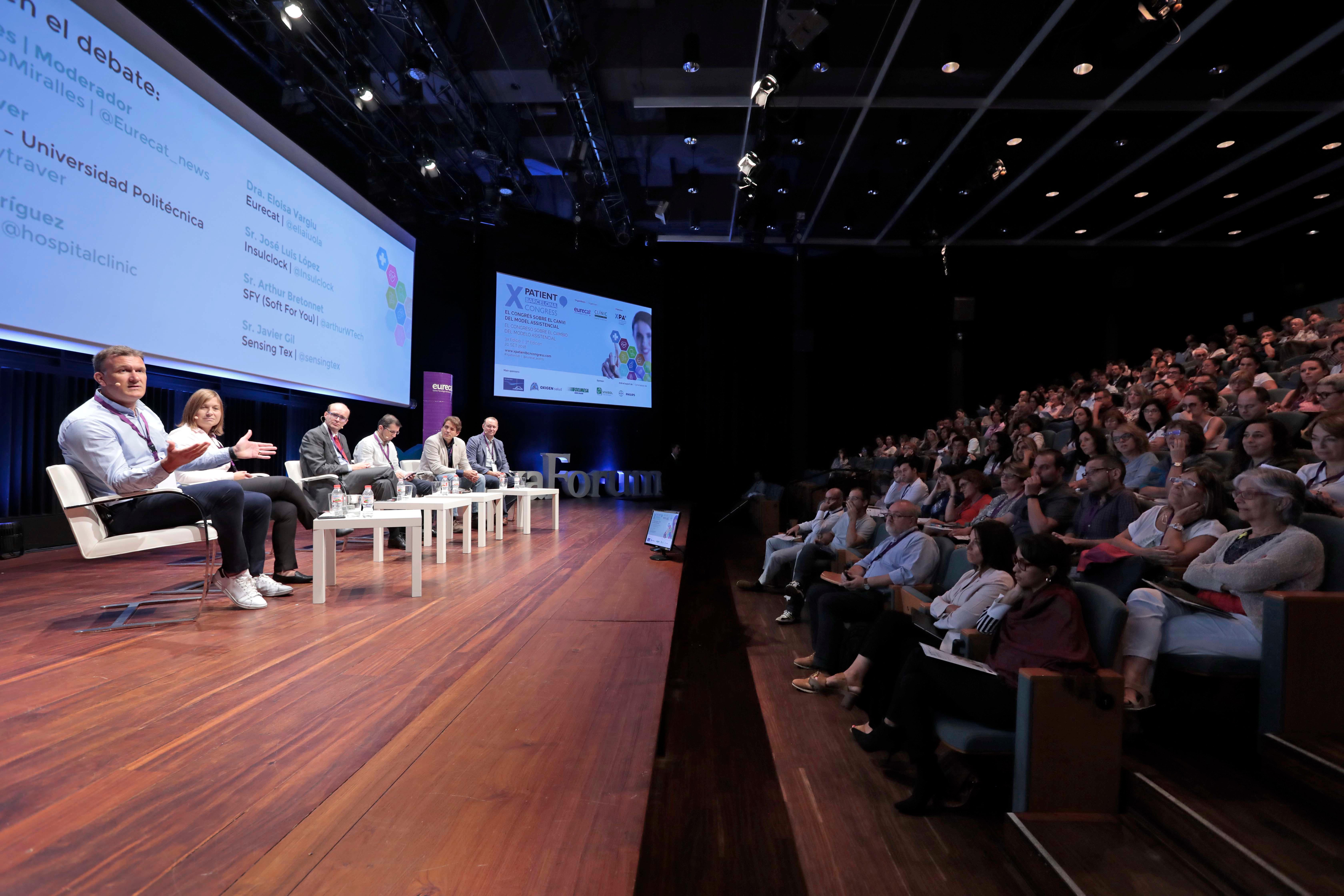 XPatient Barcelona Congress augmenta la participació del pacient en el disseny de nous serveis i tecnologies en l'àmbit sanitari