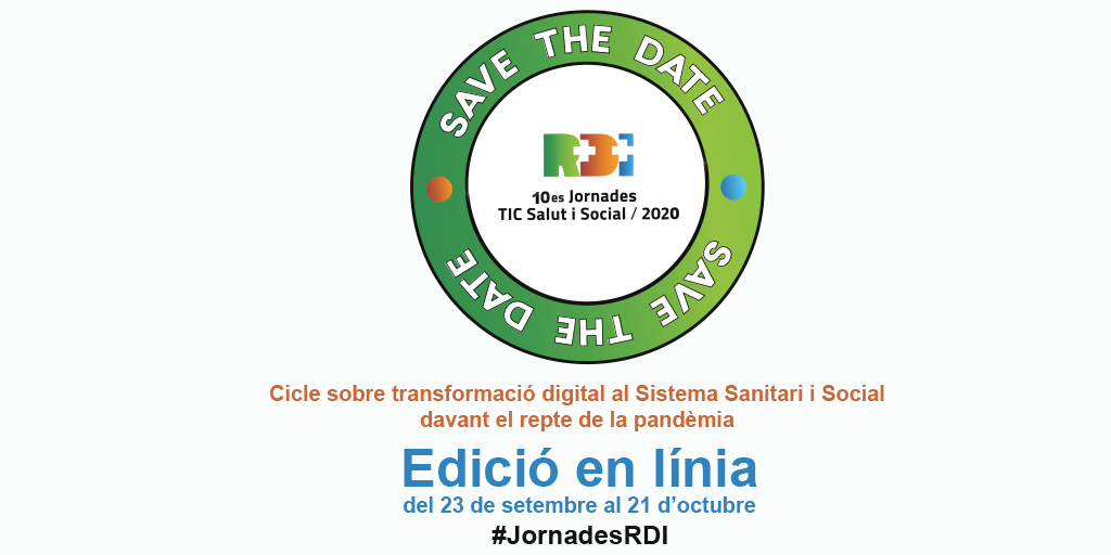 10es Jornades R+D+I TIC Salut i Social: Webinar 02