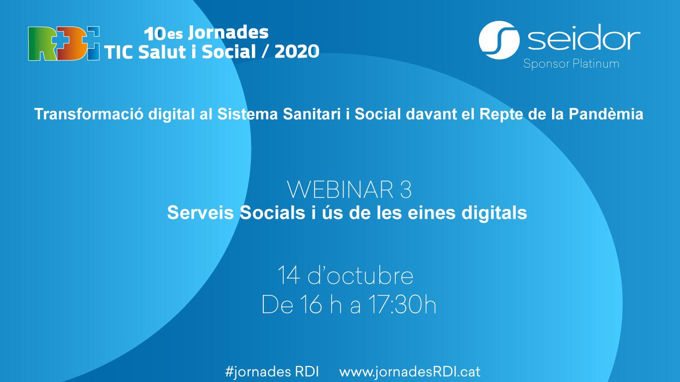 10es Jornades R+D+I TIC Salut i Social: Webinar 03