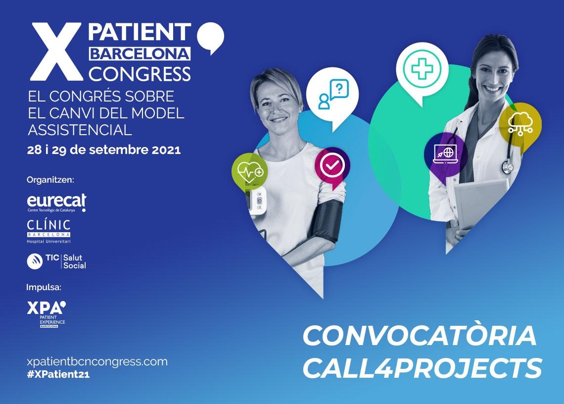 La 6a edició del XPatient Congress fa una crida a la compartició d'experiències i casos d'èxit